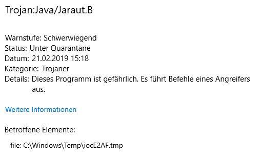 Trojan:Java/Jaraut.B