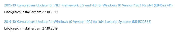 Fehlermeldung nach Windows Neustart  0x80070002