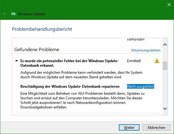 Nach Installation des Windows 10 Updates 1803 und 1809 bootet der Rechner nicht mehr.
