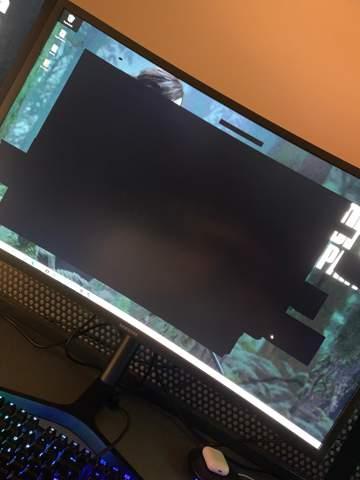 Wieso wird mein Desktop Schwarz?
