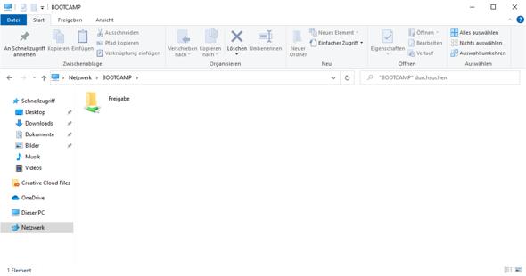 Wie kann man die erweiterte Freigabe in Kodi aufrufen?