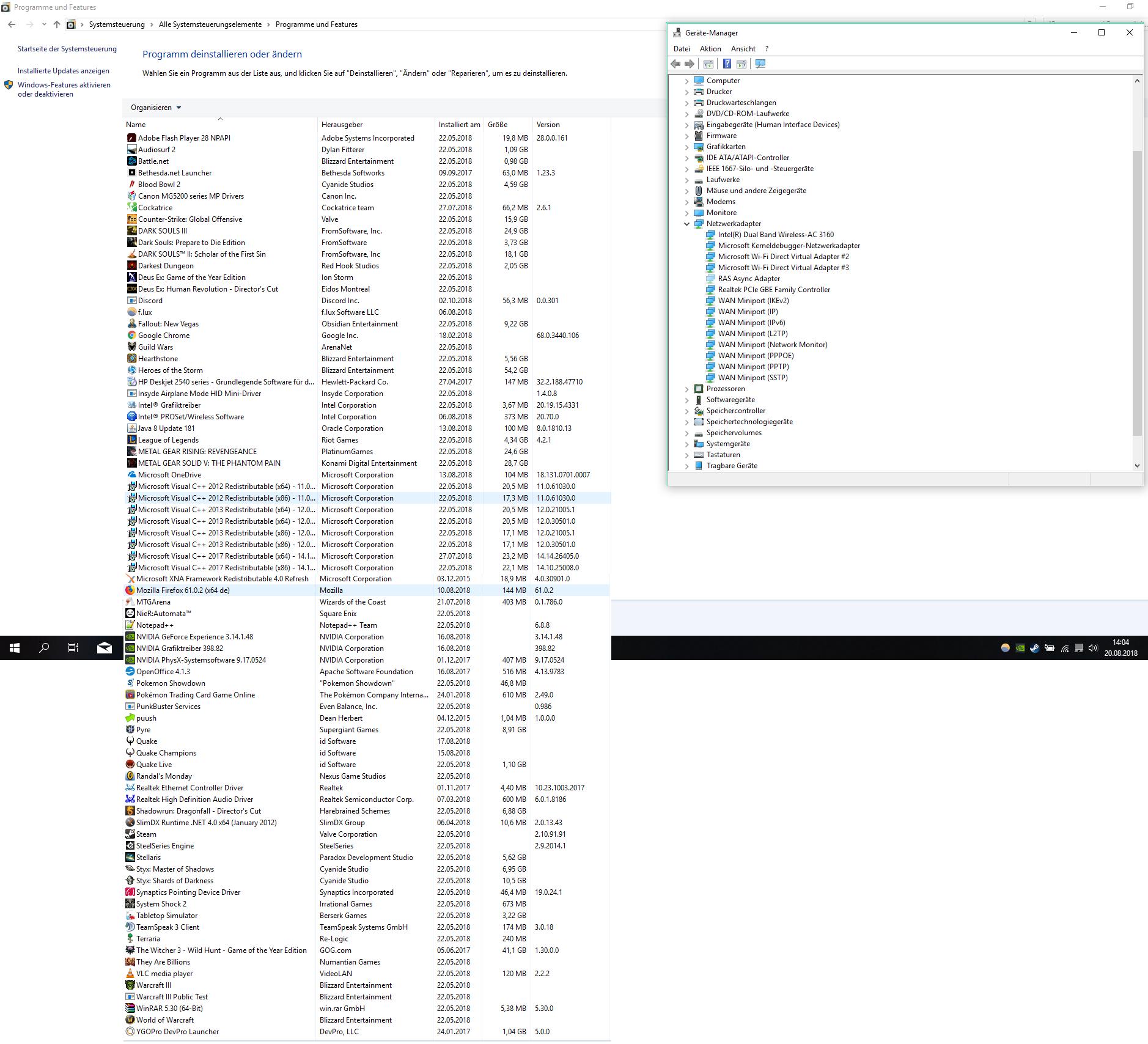 Windows 10 Netzwerk Scanns