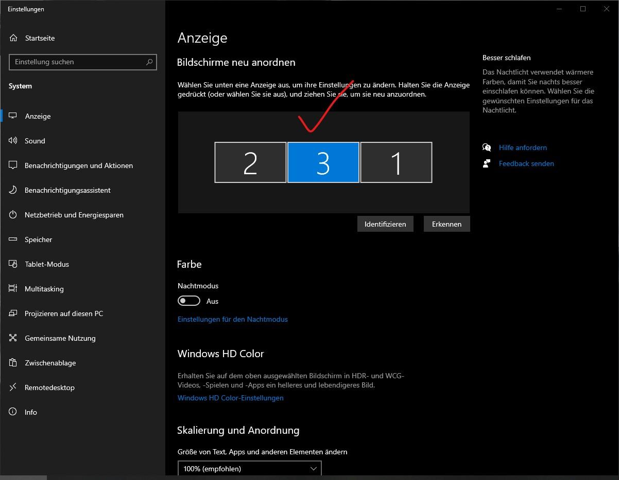 3 Monitore Anschließen Windows 10