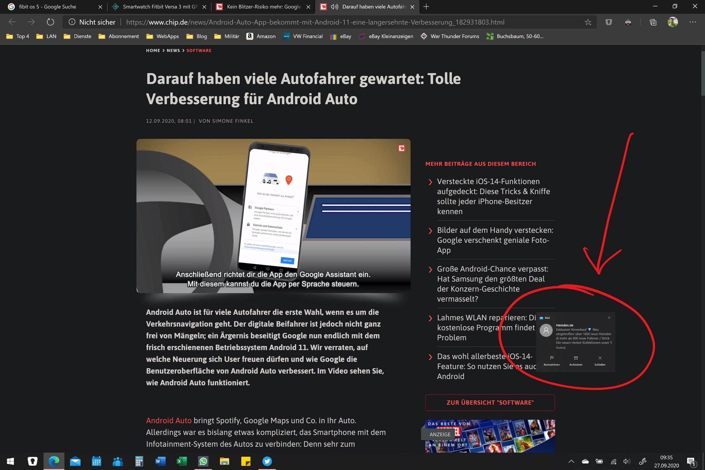 """Windows 10 Benachrichtigungen erscheinen """"versetzt"""" und """"kleiner"""""""