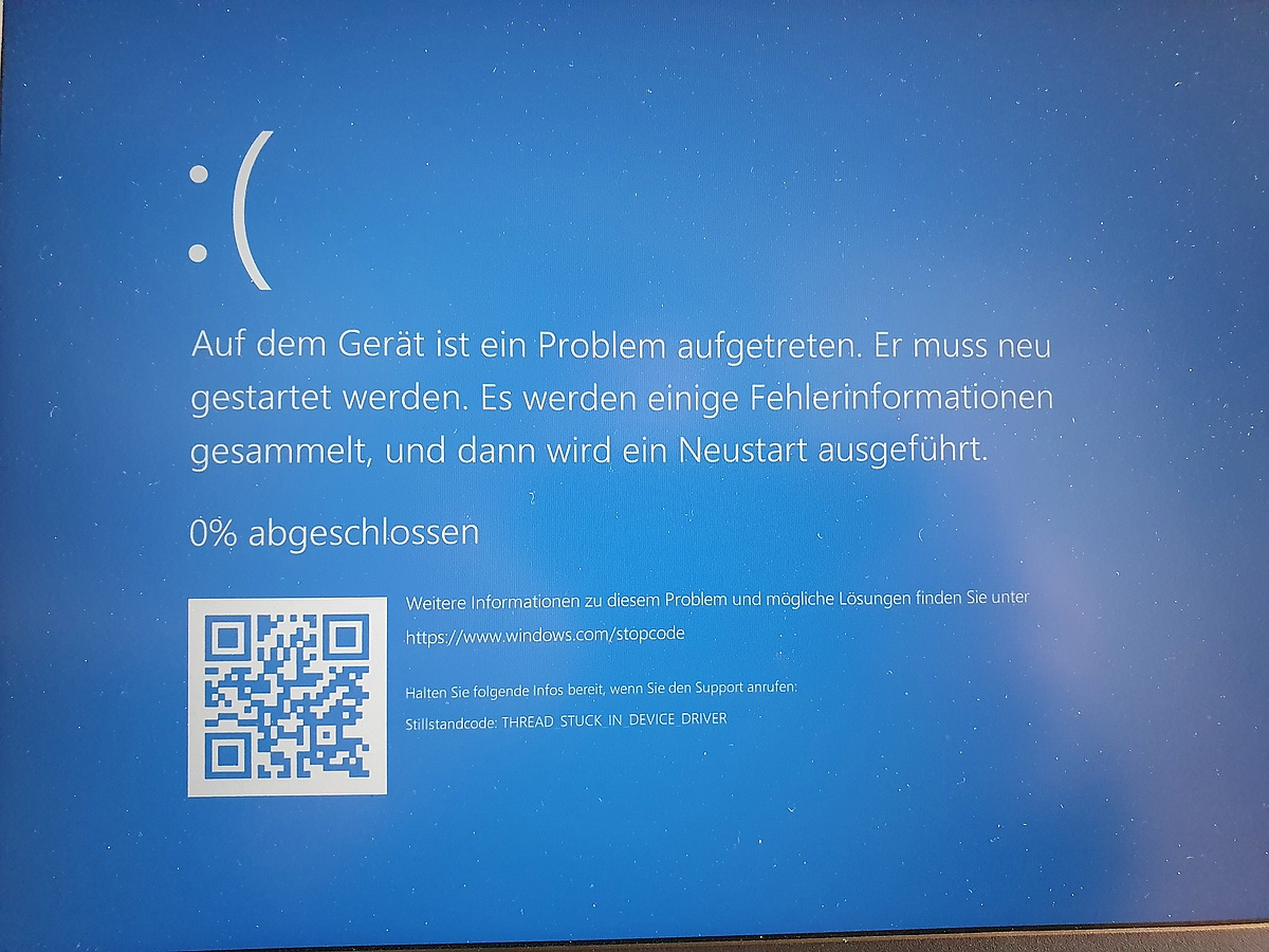BlueScreen mit MS Wireless Display Adapter