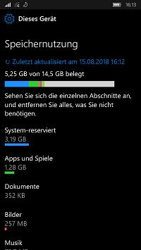 Lumia 830 - Automatische Updates von Win Mobile 10 funktionieren nicht