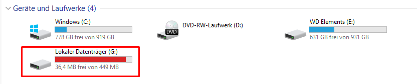 Fehler nach Windows 10 Update 1803