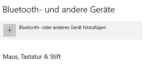 Windows 10 Pro Bluetooth Problem