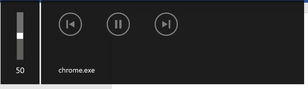 Kleines Fenster für Einstellungen bei Audio-/Video-Dateien wird andauernd angezeigt