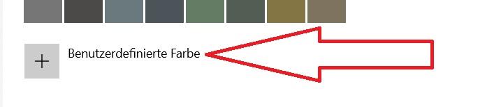 Taskleiste Farbe