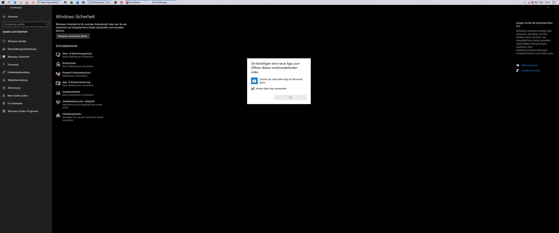 Windows Defender nicht installiert