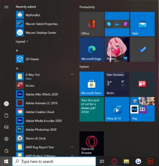 Warum sieht Windows bei mir so aus ?