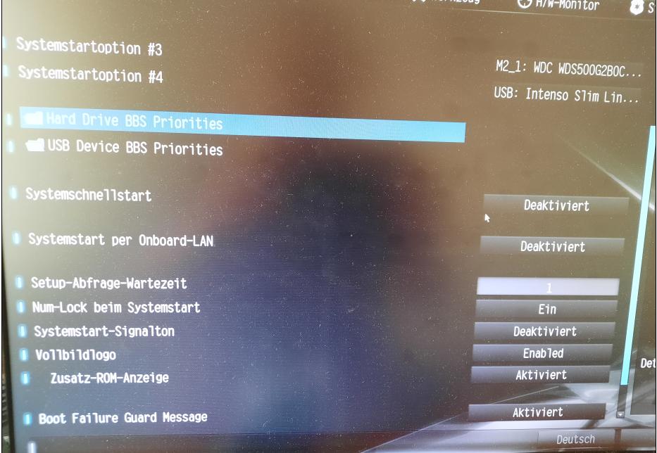 Win 10 lässt sich nicht auf M2 SSD installieren