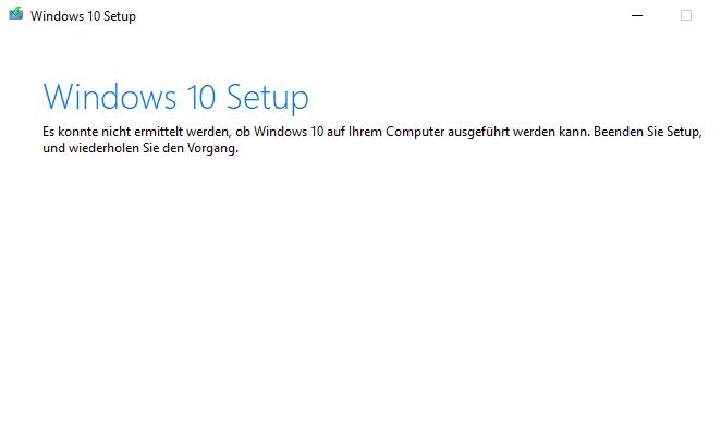 Update von Windows 10 nicht möglich / Fehlercode:  0x800f0922/ 0x8024000b / 0x8024001e