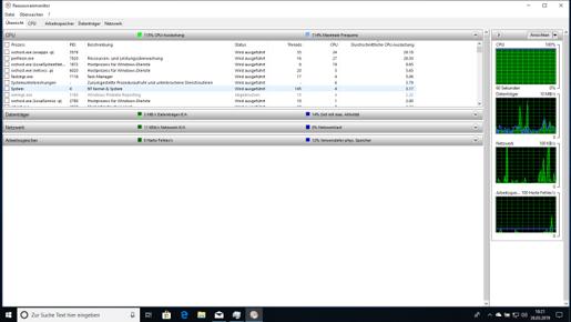 CPU-Auslastung 100 %