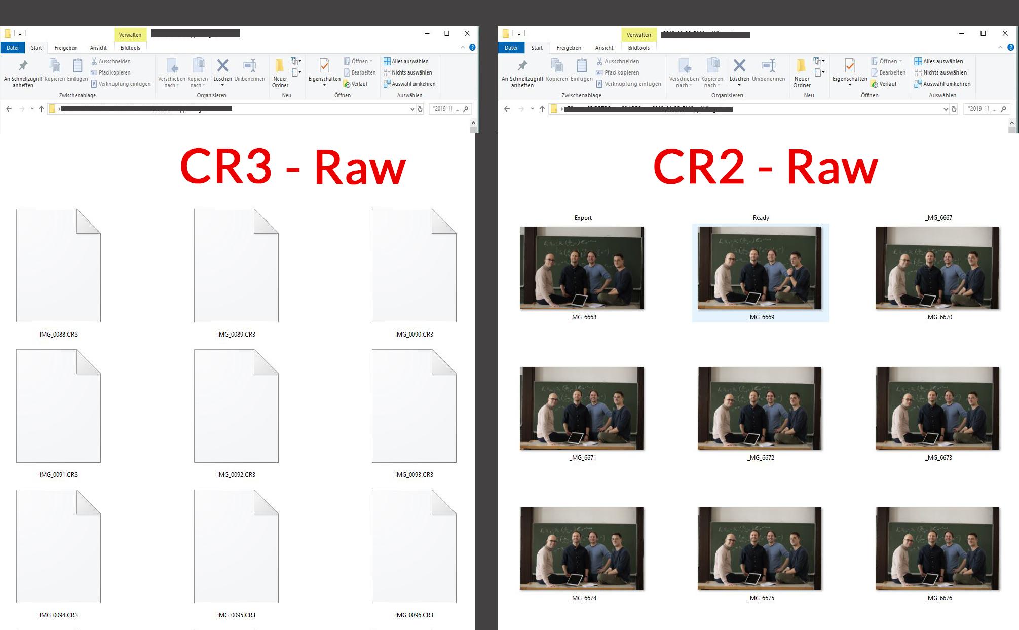 CR3 - Raw Thumbnails im Explorer anzeigen