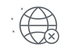 Unveränderbares Weltkugel-PopUp am Bildschirm