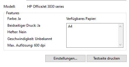 HP Drucker druckt nur schwarz-weiß