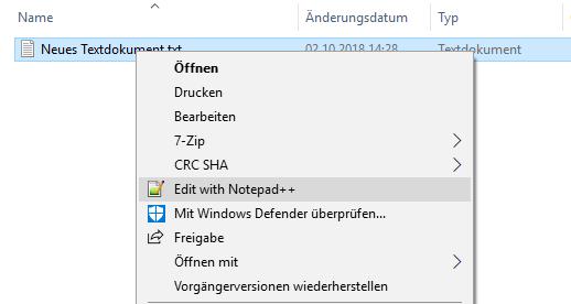 Starten MS-fremder Programme über bestimmte Datei-Endungen.