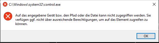 Windows Audio Crash (Besondere Konstellation)