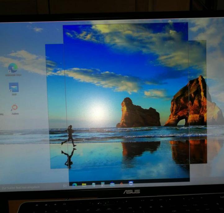 Transparente Rahmen auf Desktop nicht zu entfernen