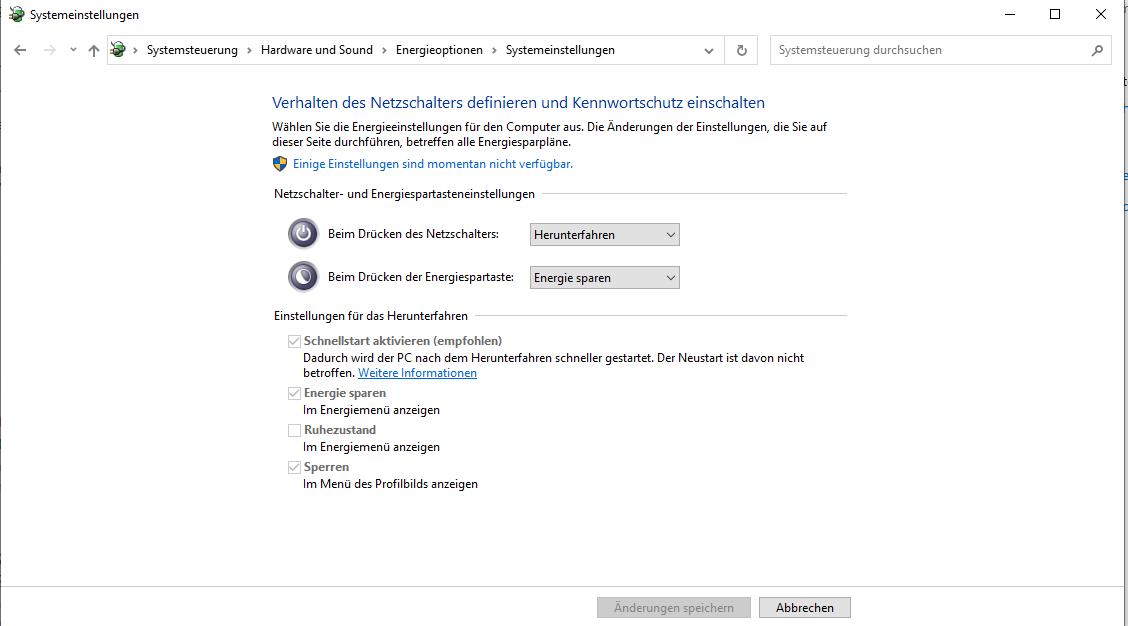 Windows Einstellungen nicht änderbar?