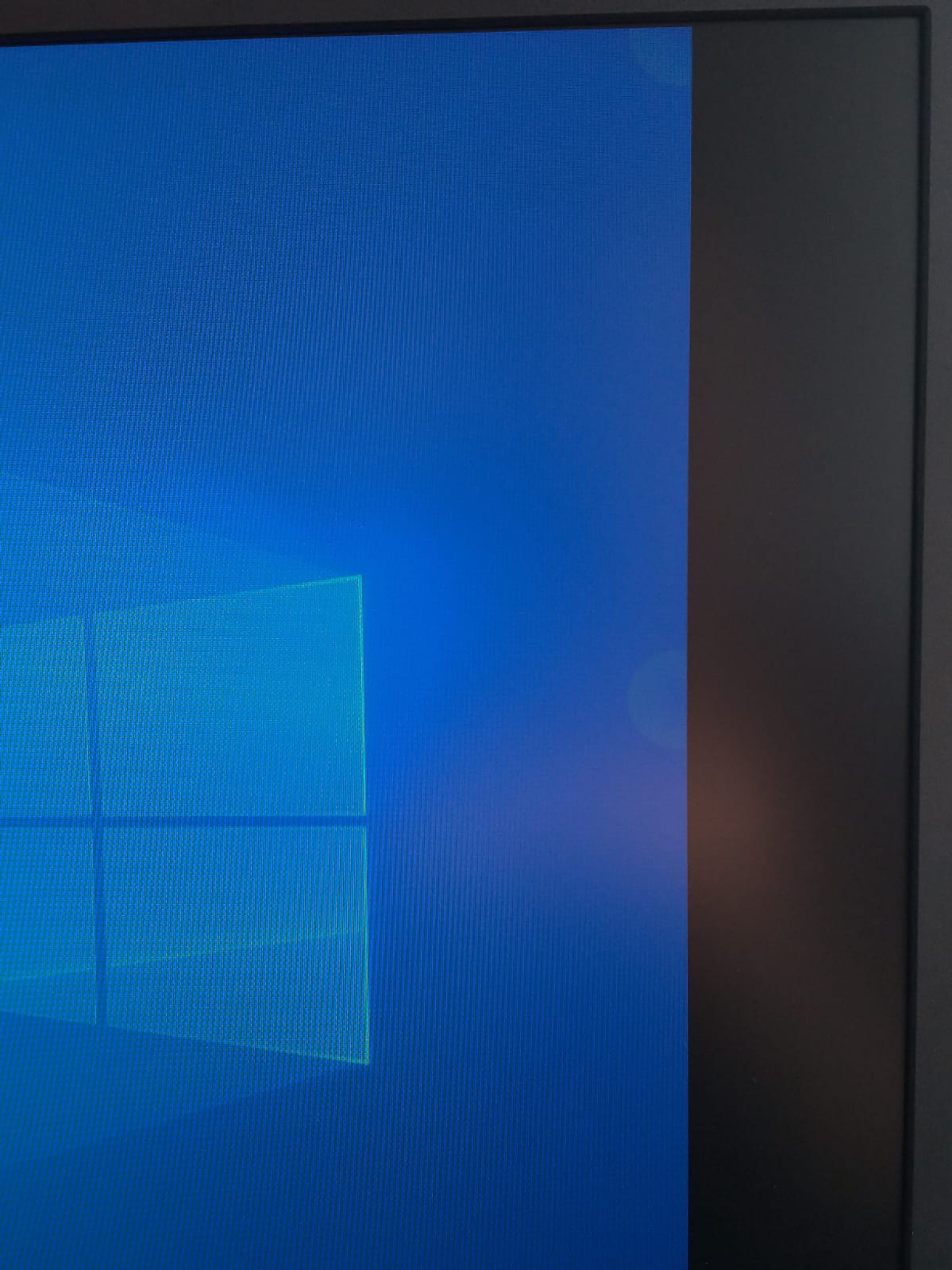 Static phantom / ghost touch / point on Surface pro 4 on display boarder