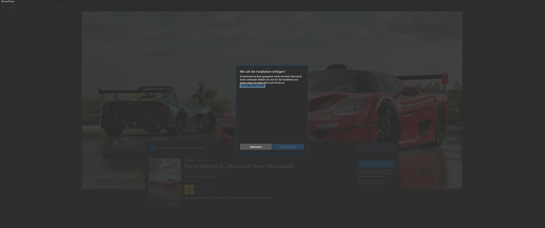 Forza Horizon 3 DLCS nicht herunterladbar