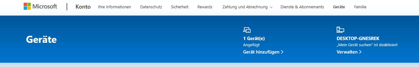 Pc wird nicht vom Microsoft Store erkannt?