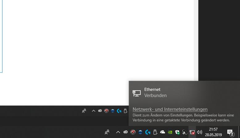 Probleme mit dem Internet bei der LAN Verbindung