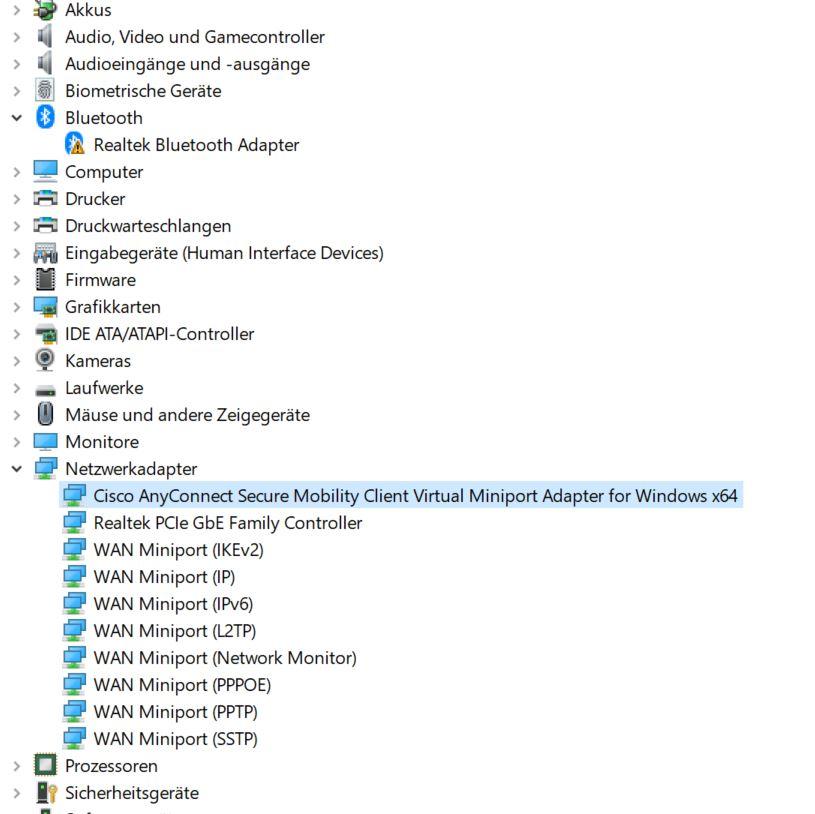 Auf diesem PC wurden keine Drahtlosgeräte gefunden - plötzlich bei Windows 10