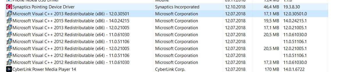 """WIndows Update KB 4023057 wird unter """"Programme"""" angezeigt + weitere Einträge"""