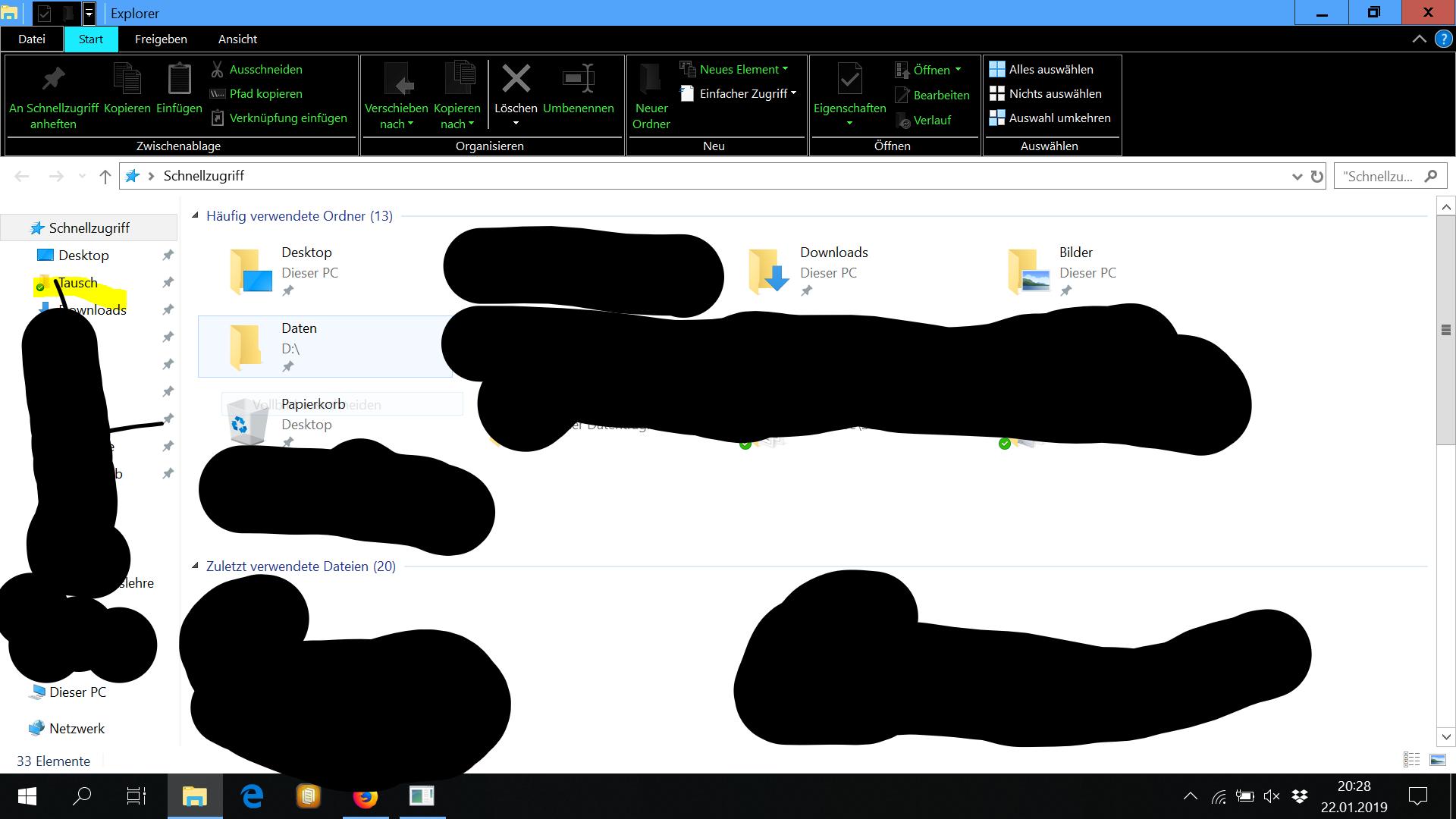 Windows 10 Design nach Update teilweise schwarz, hell, dunkel...