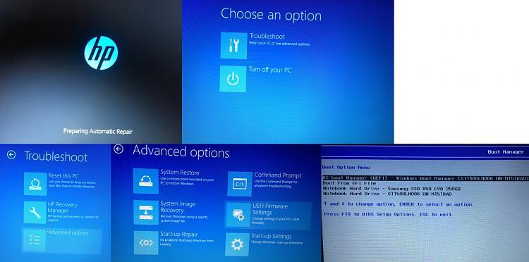 Start up / Bootproblem - Bios Problem UEFI / Legacy Falsches Laufwerk Standard
