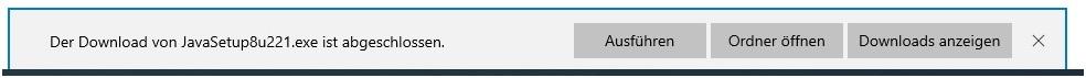 """Hinweis """"Der Download von xxx ist abgeschlossen."""" deaktivieren"""