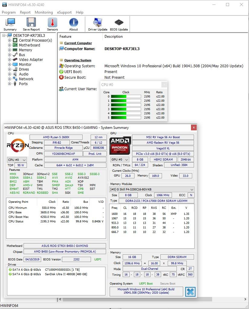 Freeze beim Hochfahren / Automatisch Neustart  dxgkrnl.sys 0X3b  [Windows 10]
