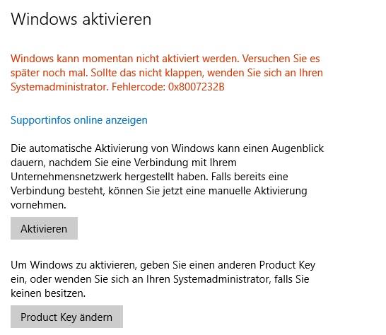 """Aktualisierung funktioniert nicht. PC bleibt auch nach Neuinstallation """"Organisation""""..."""