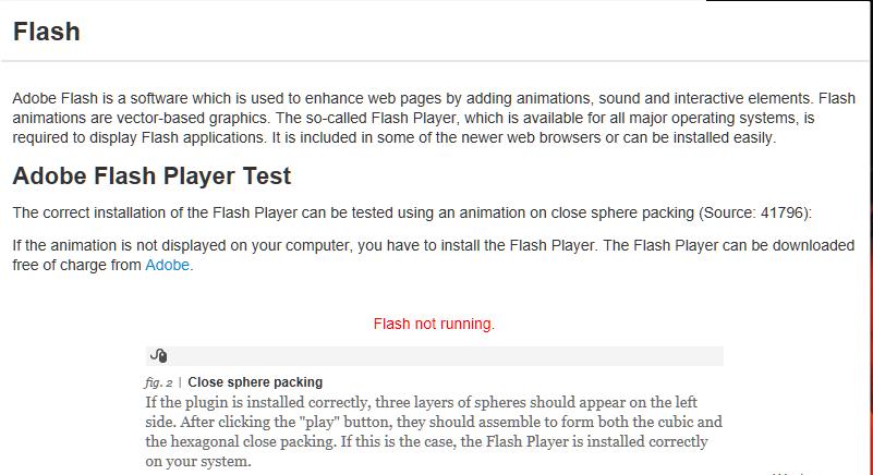 Adobe Flash Player mit Edge