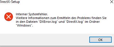 DirectX Problem