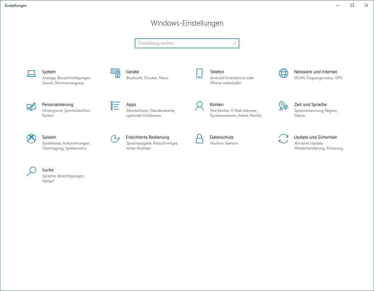 Windows 10 im abgesicherten Modus starten