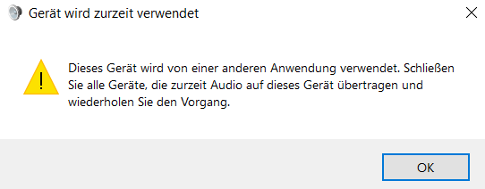Soundkarte funktioniert unter Windows nicht mehr