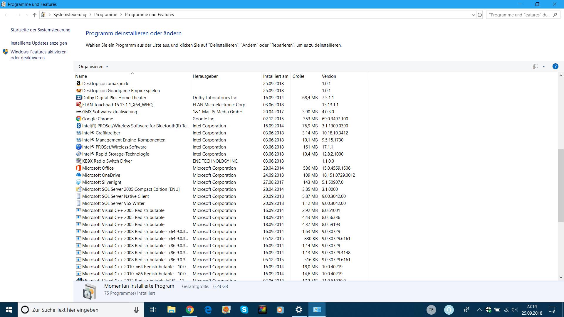 Probleme betreffs Update für Windows Defender Antivirus-Antischadsoftwareplattform –...