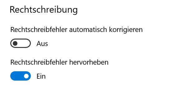 Outlook Webapp (von Office 365) - Windows 10 - Edge - Rechtschreibprüfung deaktivieren