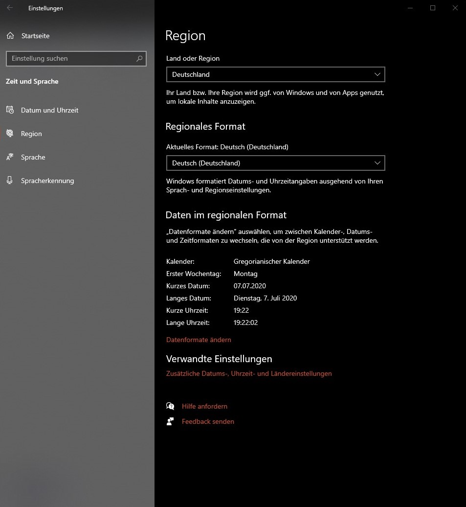 """Cortana """"Ich kann das Sprachpaket leider nicht herunterladen"""" und """"Die..."""