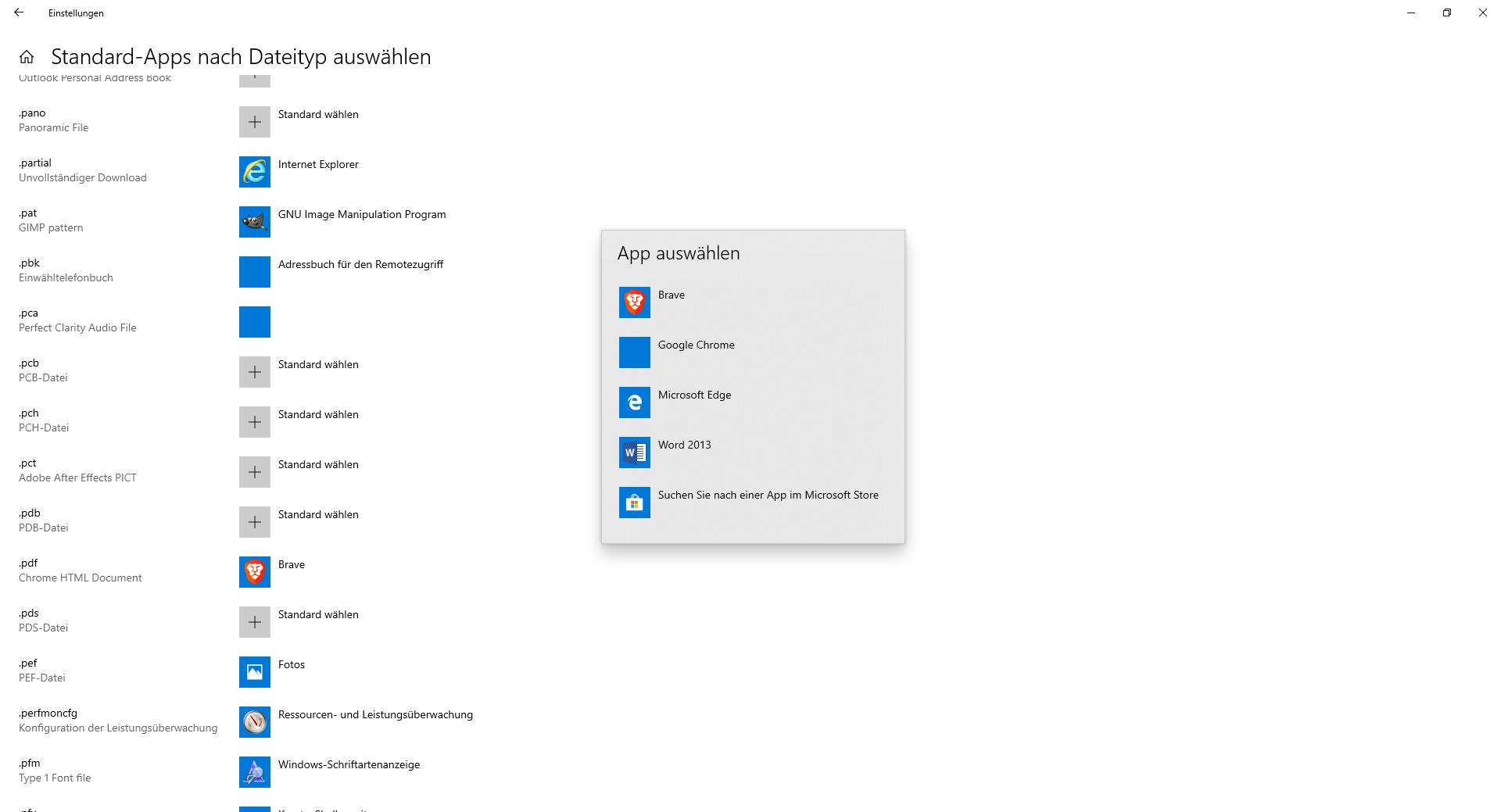 Chrome wird trotz Deinstallation als App angezeigt