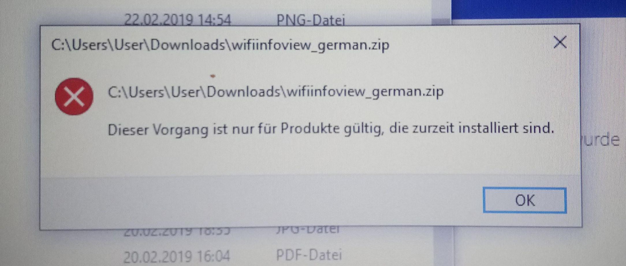 Probleme bei .ZIP Dateien