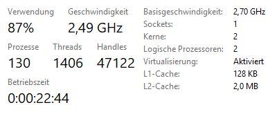 Windows 10 fährt nie vollständig herunter - Betriebszeit zeigt mehrere Tage an