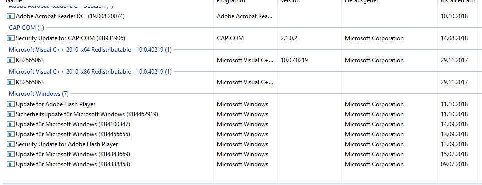 Windows Updates werden nicht durchgeführt