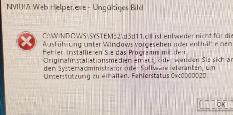 Nvidia Web helper.exe