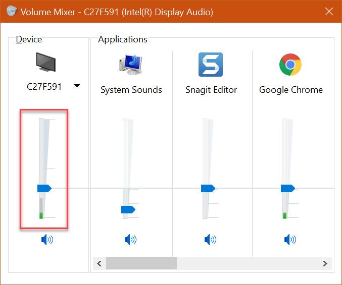 Kein Ton über externen Monitor DisplayPort
